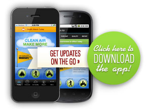 Download the Clean Air Make More App